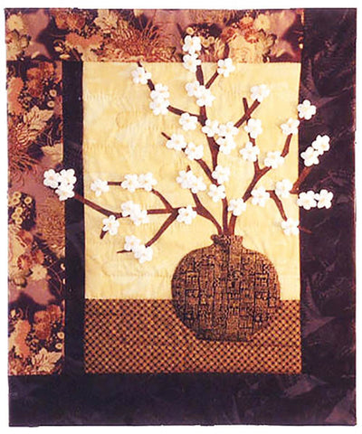 Quilt Pattern - Designs to Share - Cherry Blossom Vase