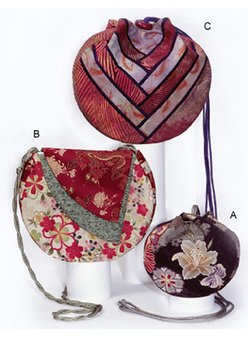 Bag Pattern - Square Rose Designs - Circle Bag