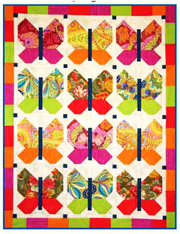 Quilt Pattern & Template - Brookshire Design Studio - Butterfly Town