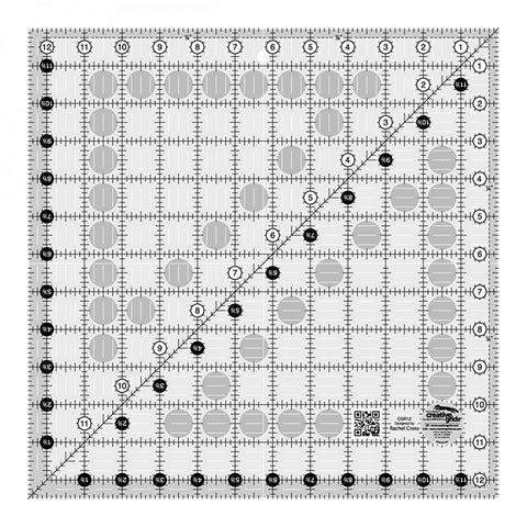 Rulers & Templates - Creative Grids - CGR12 - 12 1/2