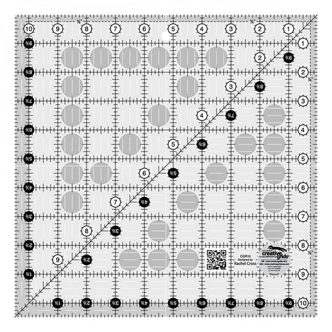 Rulers & Templates - Creative Grids - CGR10 - 10 1/2