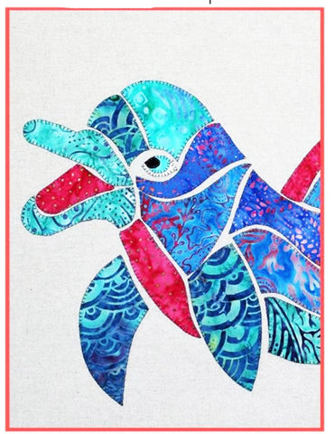 Quilt Pattern - Pattern Poole - Dolly the Dolphin