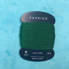 Sashiko Thread - Daruma - Thin Weight - 40m - # 208 Dark Green