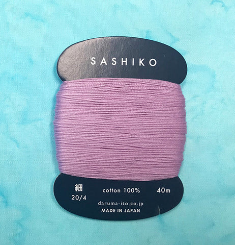 Sashiko Thread - Daruma - Thin Weight - 40m - # 210 Orchid