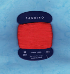 Sashiko Thread - Daruma - Thin Weight - 40m - # 213 Red