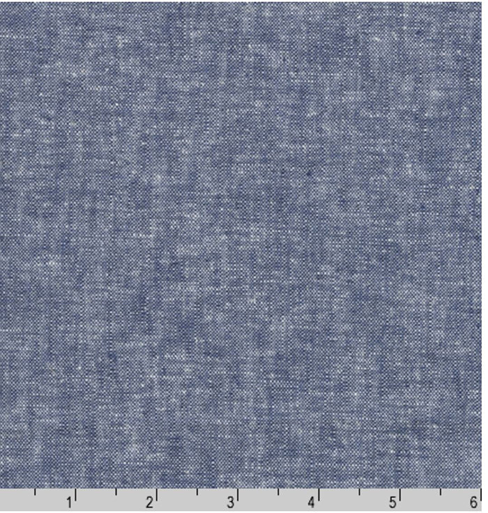Solid - Essex Cotton-Linen Yarn-Dyed - Denim # 1452