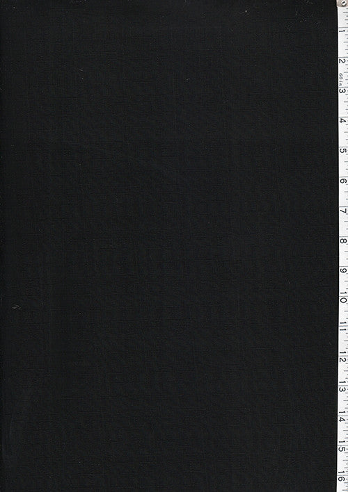 Japanese - Solid Color Dobby Weave - Black