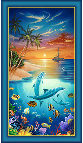 Novelty - Dolphin Island - PANEL