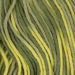 Sashiko Thread - Olympus 20m - Variegated # 95 - Olive Greens