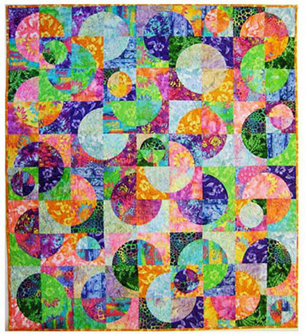 Quilt Pattern - Elisa's Backporch Designs - Circle Dance Pattern & 7