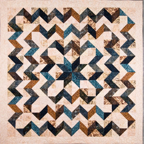 Quilt Pattern - Elisa's Backporch Designs - Star Surround Pattern & Square Me Up Ruler