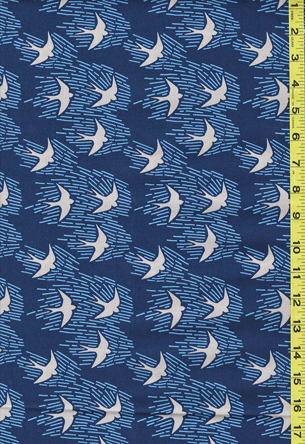 Asian - Cloud 9 - Whitehaven Sparrows - Navy