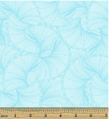 Asian - Tonal Fan Fare - Light Blue