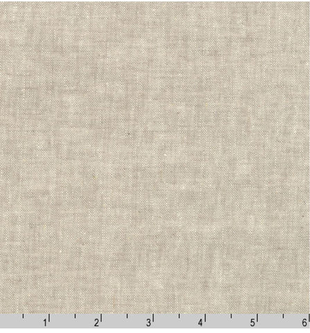 Solid - Essex Cotton-Linen Yarn-Dyed - Flax