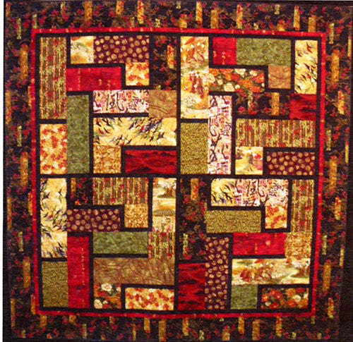 Quilt Pattern - Leesa Chandler Designs - Forbidden City