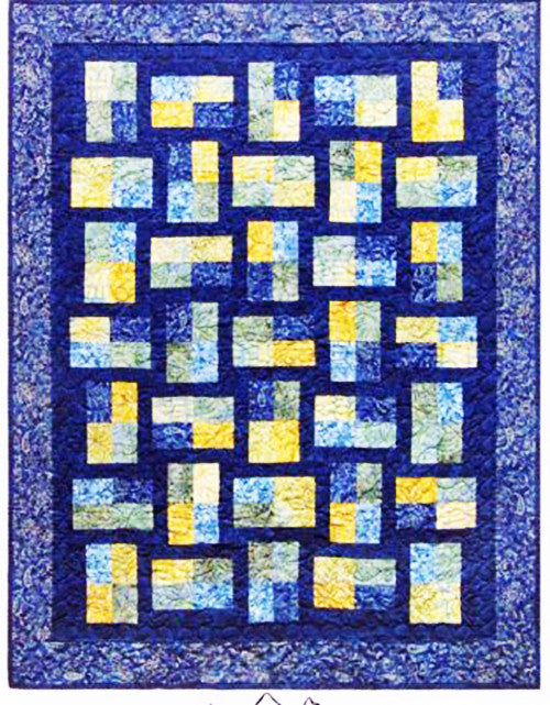 From MountainPeek Creations NEW TOWN SQUARE QUILT PATTERN