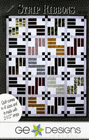Quilt Pattern - GE Designs - Strip Ribbons