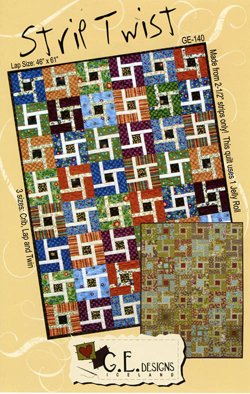 Quilt Pattern - GE Designs - Strip Twist