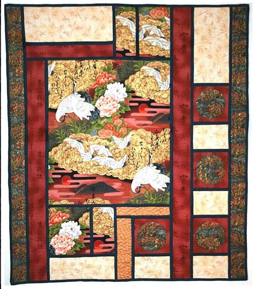 Quilt Pattern - Something Sew Fine - Gardens of Serenity