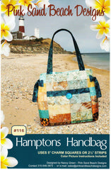 Bag Pattern - Pink Sand Beach Designs - Hamptons Bag - ON SALE