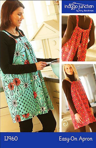 Apron Pattern - Indygo Junction - Easy On Apron