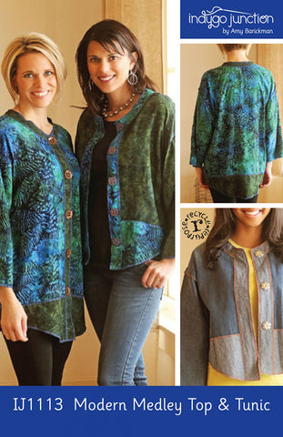 Wearables - Indygo Junction - Modern Medley Top & Tunic