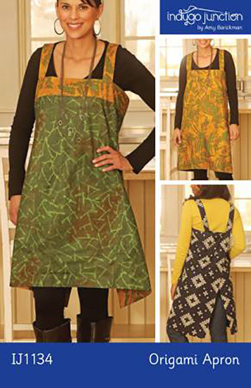 Apron Pattern - Indygo Junction - Origami Apron