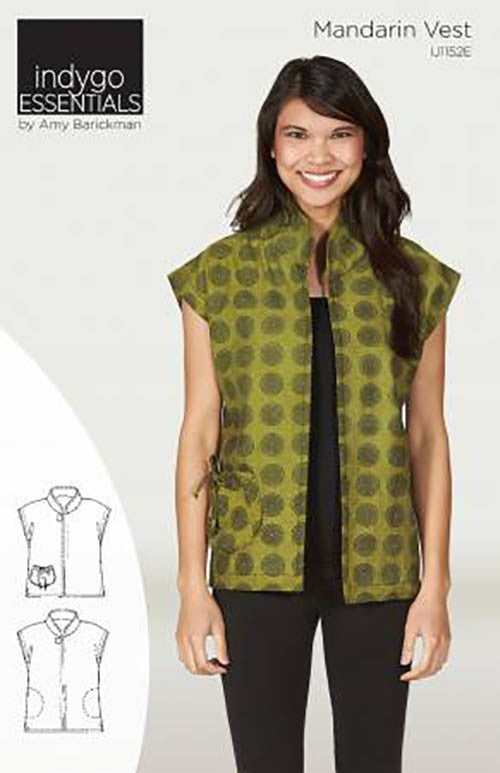 Wearables - Indygo Junction - Mandarin Vest
