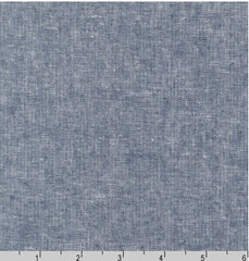Solid - Essex Cotton-Linen Yarn-Dyed - Indigo # 1178
