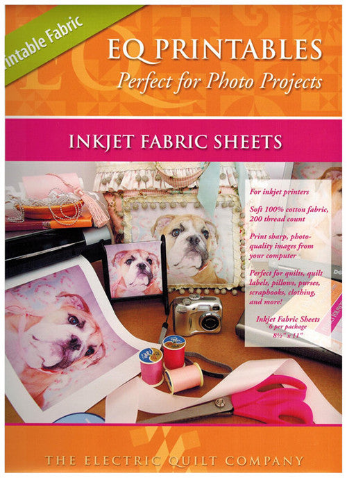 Notions - Inkjet Fabric Sheets - Cotton 200