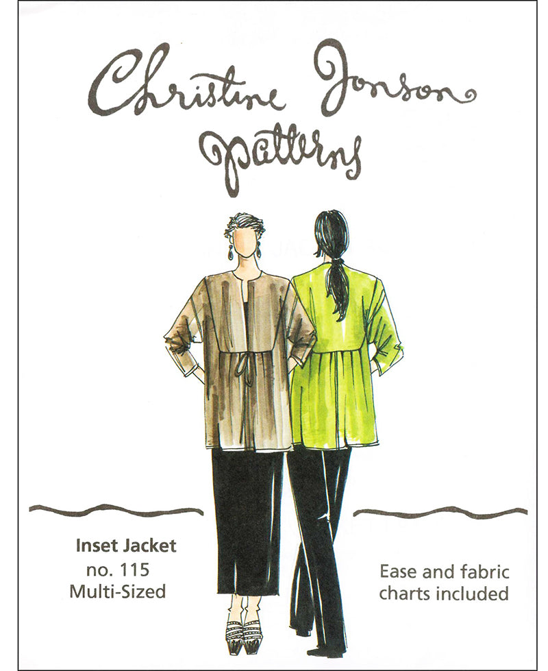 Wearables - Christine Jonson - Inset Jacket