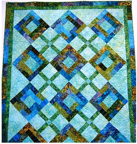 Quilt Pattern - Calico Patchworks - Island Breeze