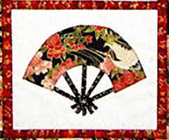 Quilt Pattern - Castilleja Cotton - Japanese Fans
