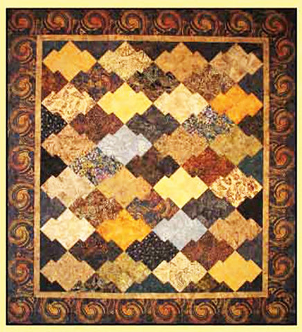 Quilt Pattern & Template - Brookshire Design Studio - Japanese Jigsaw