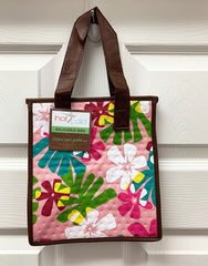 Kona Bay Bag - Hot & Cold Bag - SMALL SIZE - Colorful Flowers - Pink