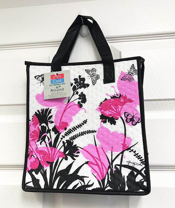 Kona Bay Bag - Hot & Cold Bag - Butterfly Garden