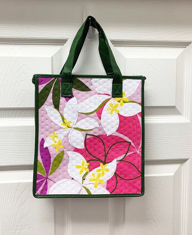 Kona Bay Bag - Hot & Cold Bag - Plumeria - Pink