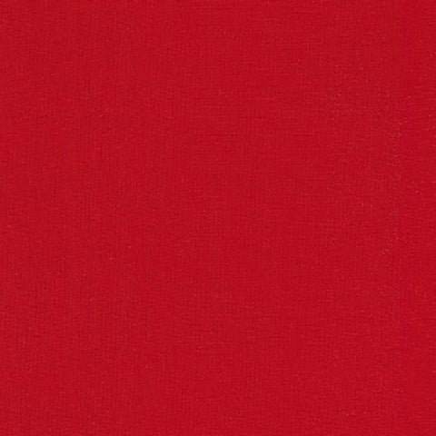 Solid Color Fabric - Kona Cotton - Rich Red