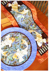 Placemat & Table Runner Pattern - Java House - Koiful Consideration