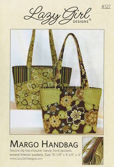 Bag Pattern - Lazy Girl - Margo Handbag