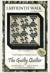 Quilt Pattern - The Guilty Quilter - Labyrinth Walk