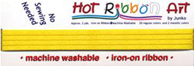Hot Ribbon - Lemon Yellow # 8