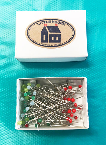 Notions - Little House Japanese Dressmaker's Pins - Refill (No Tin)