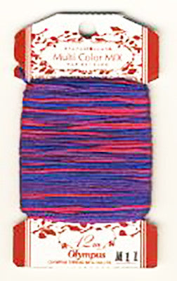 Olympus Multi-Colored Cotton Embroidery Floss - M11
