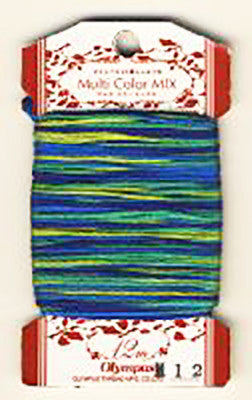 Olympus Multi-Colored Cotton Embroidery Floss - M12