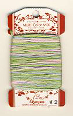 Olympus Multi-Colored Cotton Embroidery Floss - M02