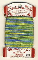 Olympus Multi-Colored Cotton Embroidery Floss - M03