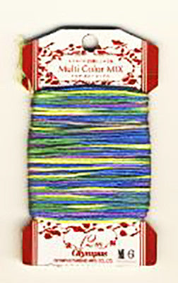 Olympus Multi-Colored Cotton Embroidery Floss - M06