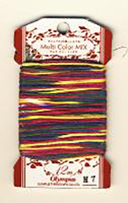 Olympus Multi-Colored Cotton Embroidery Floss - M07