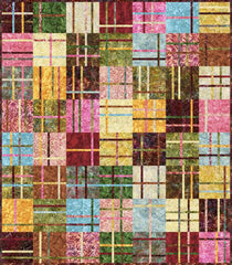 Quilt Pattern - Madison Cottage - Cranberry Chutney